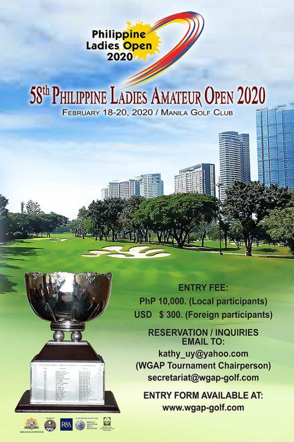 58th Philippine Ladies Amateur Open 2020